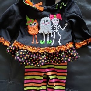 rare Editions Halloween outfit girls